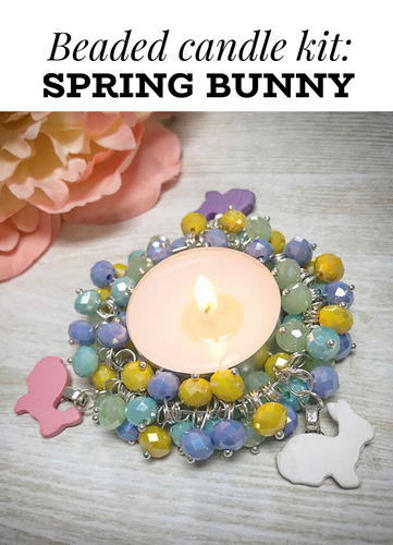 Copy of CANDLE KIT, Spring bunnies