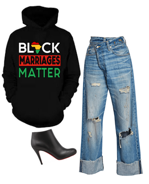 Black Marriages Matter Hoodie (Unisex M/W)