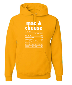 Mac and Cheese Hoodie (Unisex M/W)