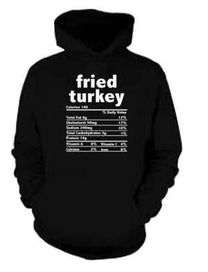 Fried Turkey Hoodie (Unisex M/W)