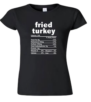 Fried Turkey T-Shirt (4XL - Plus Size)