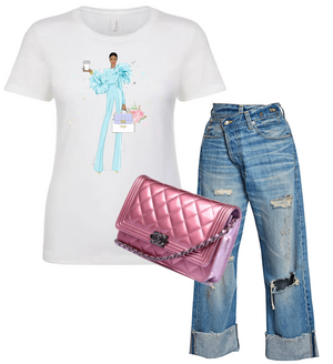 Cotton Candy Luxe T-Shirt