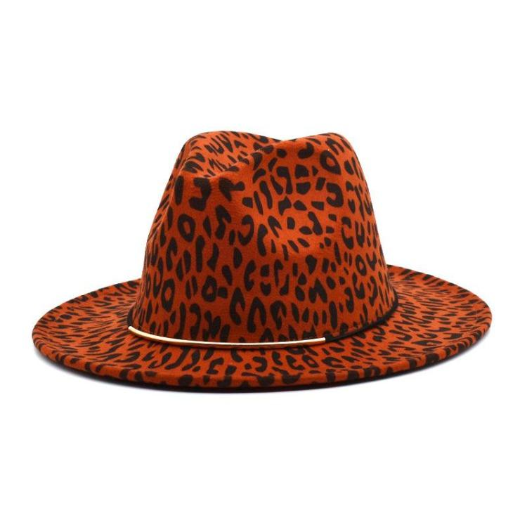 Leopard Print Fedora-Now Shipping