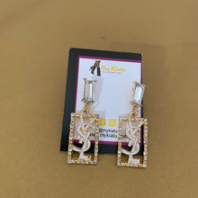 Load image into Gallery viewer, YSL  Rectangular Dangles