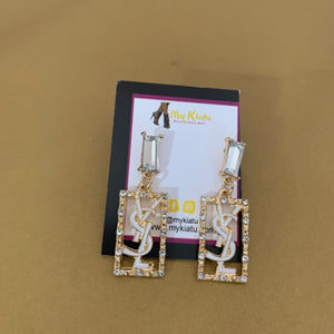 YSL  Rectangular Dangles