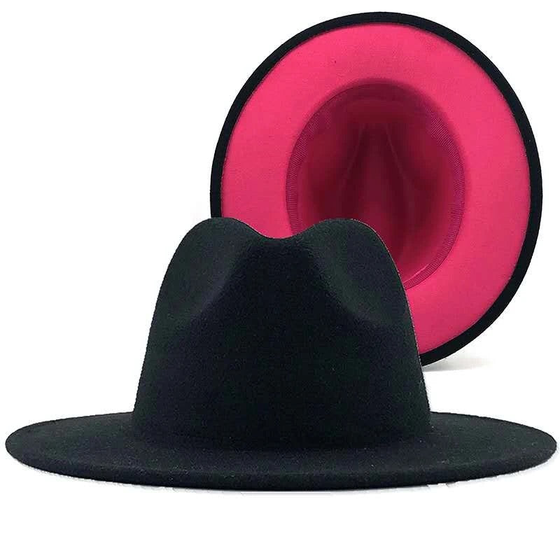 Pink Bottom Fedora
