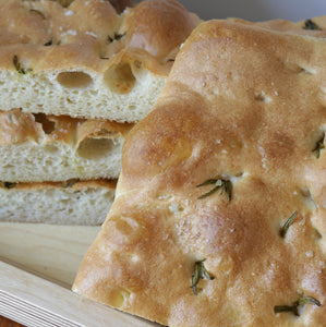 Rosemary and Salt Focaccia