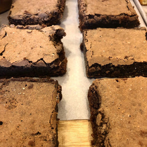 Chocolate and Almond Brownie (Gluten Free) 1 slice