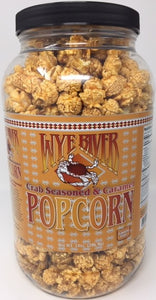 Crab Seasoned & Caramel Popcorn 14 oz