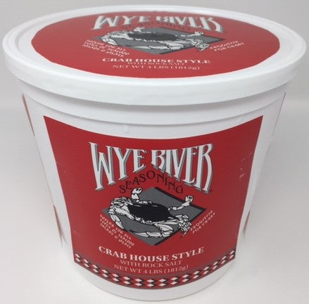 Crab House Style with Rock Salt 4 LB Tub