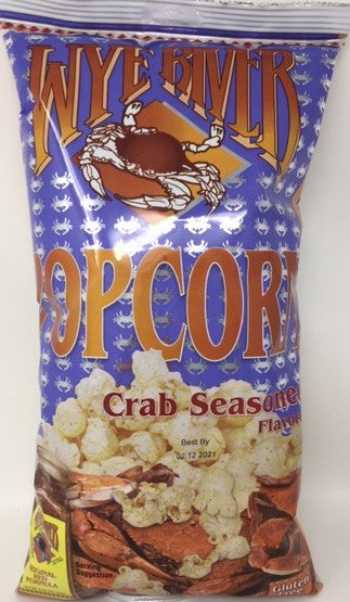 Crab Seasoned Popcorn 6 oz - 4 Pack