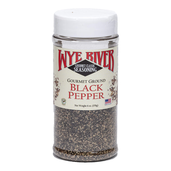 Gourmet Ground Black Pepper