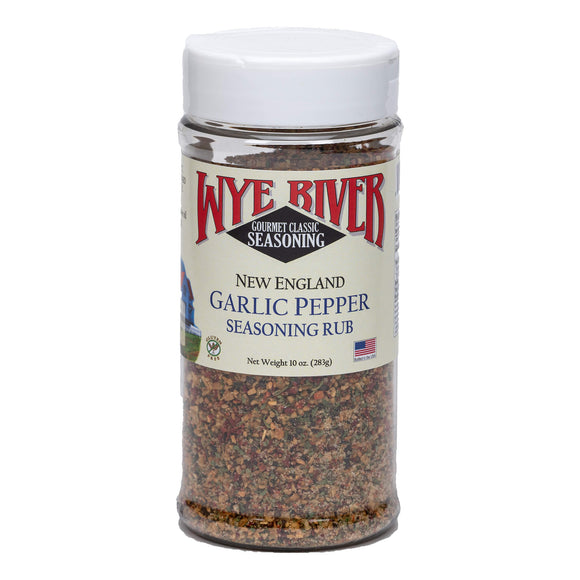 New England Garlic Pepper Seasoning Rub