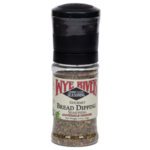 Bread Dipping Seasoning with Adjustable Grinder