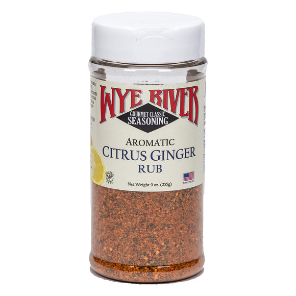 Citrus Ginger Rub