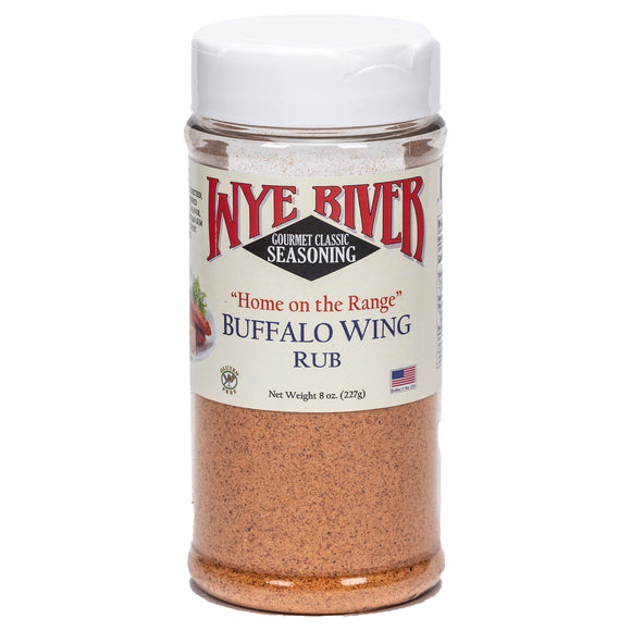 Home On The Range Buffalo Wing Rub