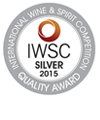 IWSC Awards 2015 Silver Winner