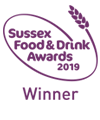 Sussex Food & Drink Awards Winner 2019