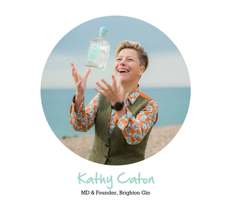 Kathy Cathon - MD & Founder of Brighton Gin