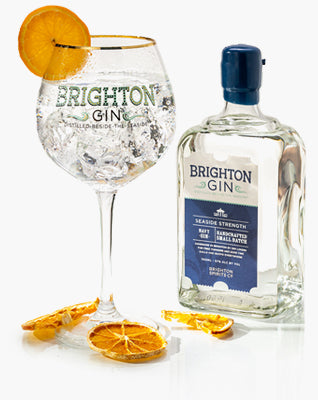 Brighton Gin Seaside 57% Navy Gin & Tonic