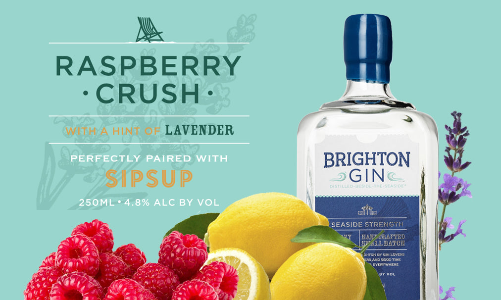 Brighton Gin Raspberry Crush