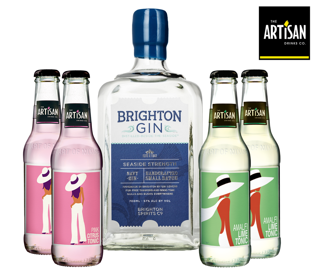 Brighton Gin & Artisan Drinks bundle