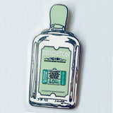 Brighton Gin Enamel Pin Badge