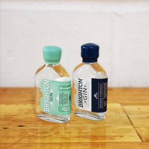 Brighton Gin - 2 x 50ml Minis (Seaside or Pavilion Strength)
