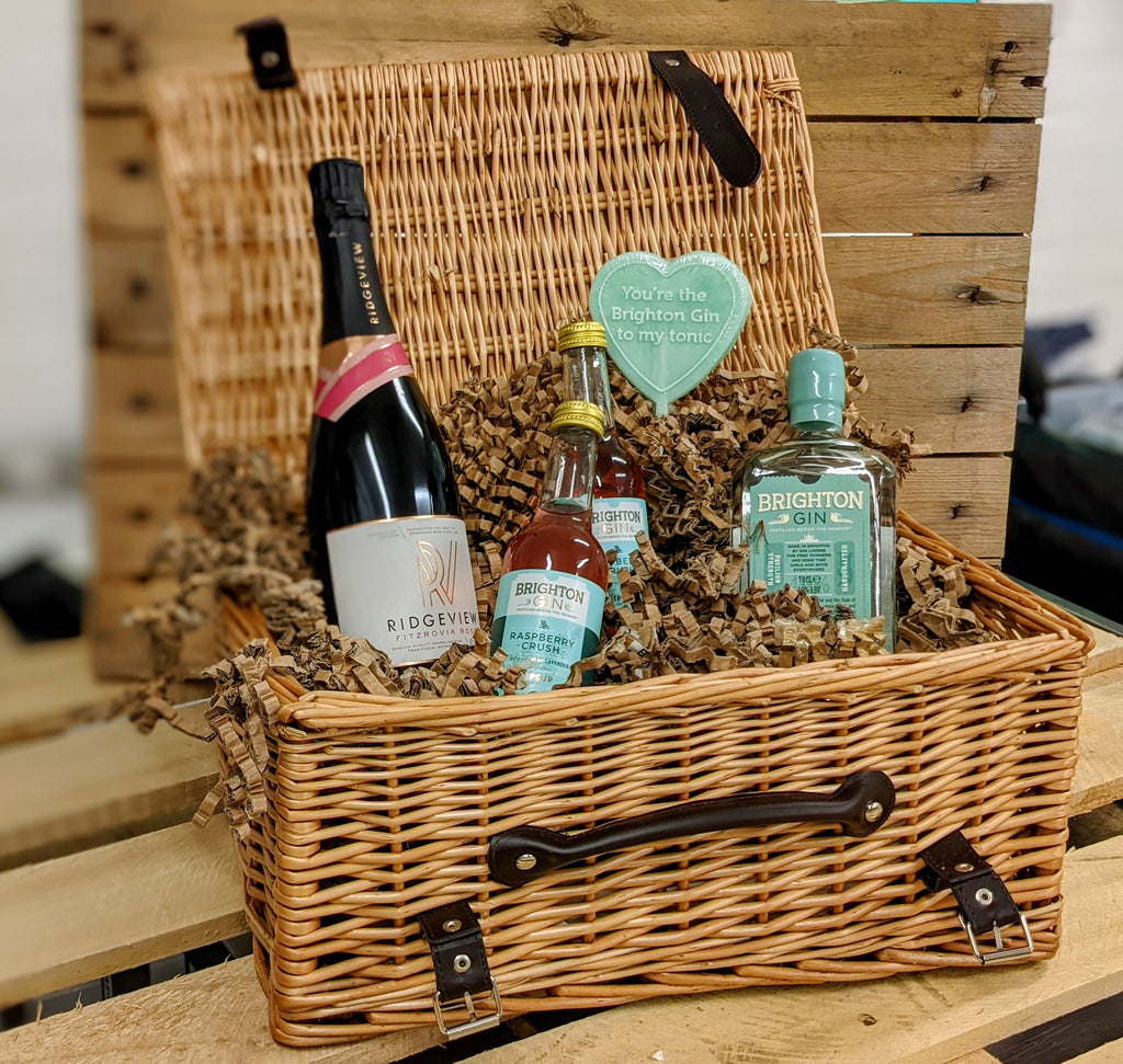 Brighton Gin & Ridgeview Gift Hamper