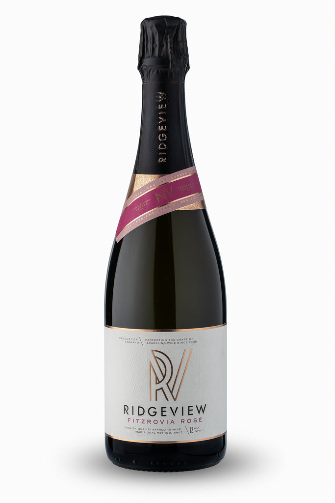 A photo of the Ridgeview Fitzrovia Rose bottle