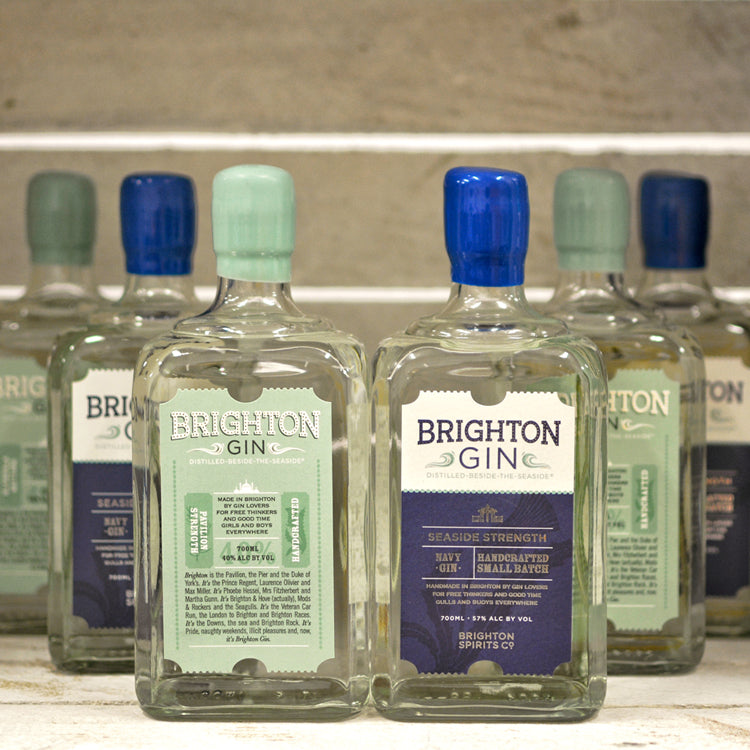 Brighton Gin Mixed Case of 6 x 700ml Bottles