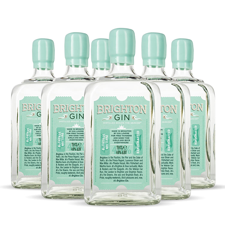 Brighton Gin Case of 6 x 700ml Pavilion Strength