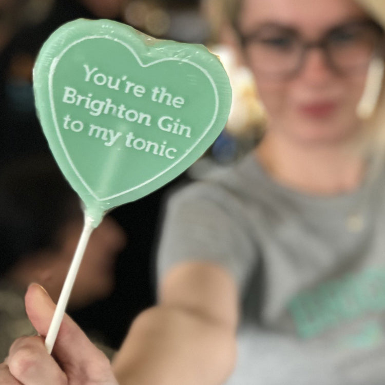 Brighton Gin Flavoured Lollipops