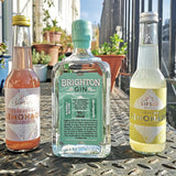 Brighton Gin & Sipsup Mixer Set