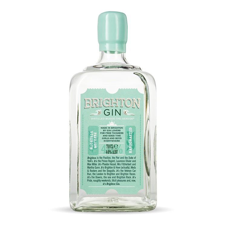 Brighton Gin 700ml Bottle Pavilion Strength (40% ABV)