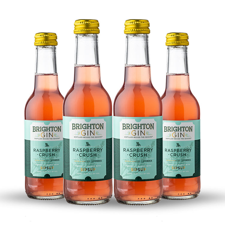 Brighton Gin Raspberry Crush 4 Bottle Pack
