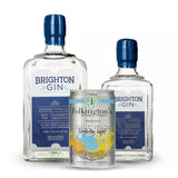 Brighton Gin Seaside 700ml & 350ml Bottles with Folkingtons Tonic