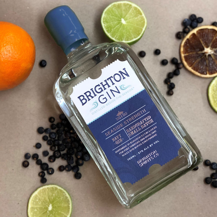 Brighton Gin Seaside Navy Strength Gin & Botanicals