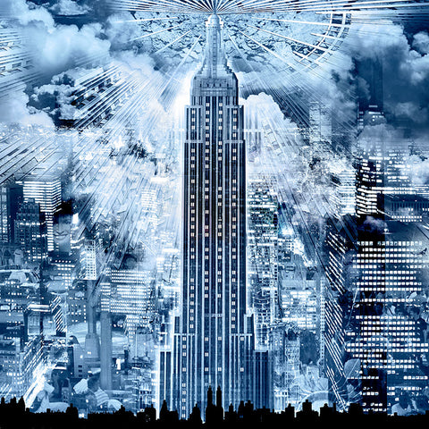 RÉGIS COLOMBO - EMPIRE STATE BUILDING, NEW YORK - ART