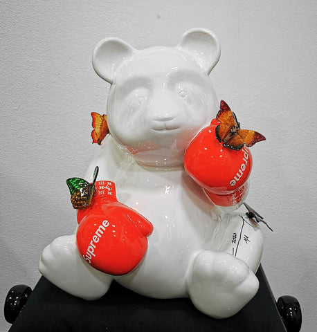 CHRISTOPHE COMERRO - PAND'OURS POP ART SUPREME-PAPILLONS, 2020