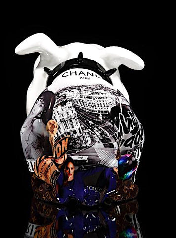 CHRISTOPHE COMERRO - VEGAS POP ART CHANEL, 2019