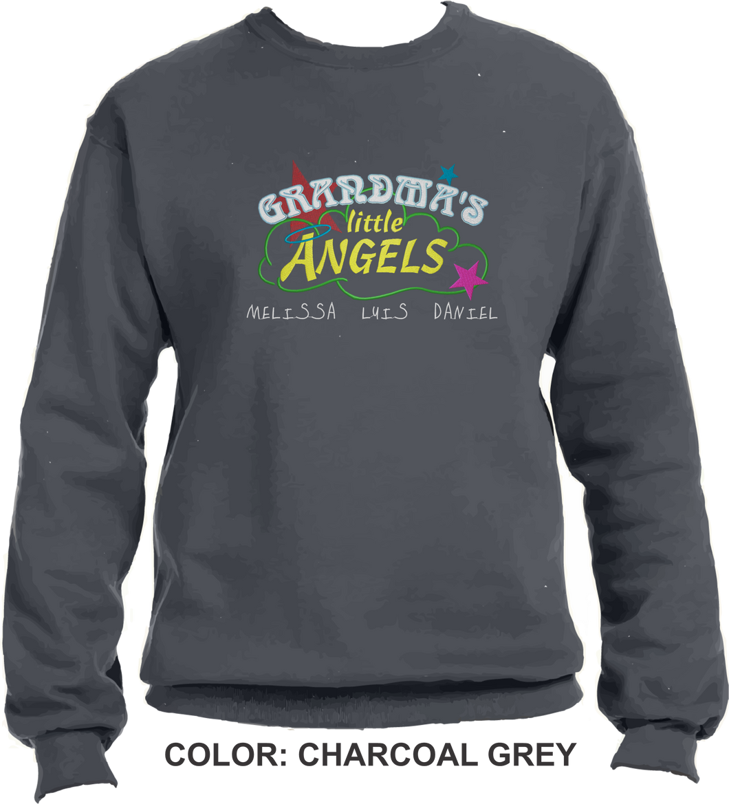 562 Grandma Angles Crewneck
