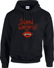 Load image into Gallery viewer, Blood Donor Rhinestone Hoodie