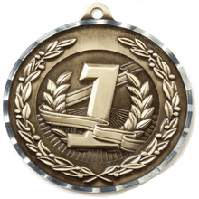 "Load image into Gallery viewer, 2.75"" DIAMOND CUT MEDAL"