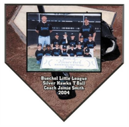Unisub Home Plate Plaque