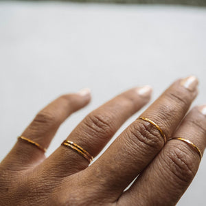 Dainty Gold & Silver Rings