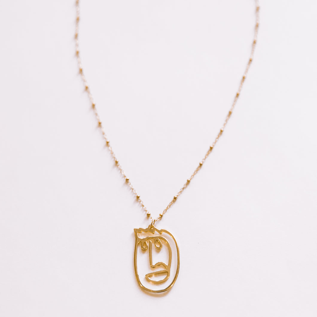 The Face Necklace