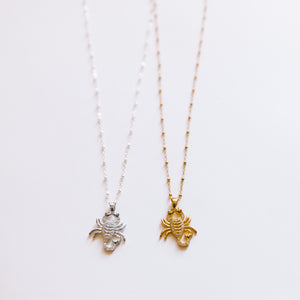 The Scorpion Necklace
