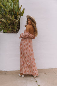 The Coral Maxi Dress