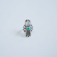 Load image into Gallery viewer, The Turquoise Shield Ring